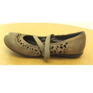 NEW Womens OTBT Marion Flat Mary Jane Brown - 6.5M
